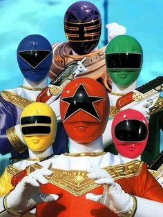 All six Zeo rangers