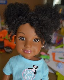 Beads, Braids and Beyond: Natural Hair for Dolls Tutorial
