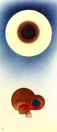 Education,1931,by Wassily Kandinsky