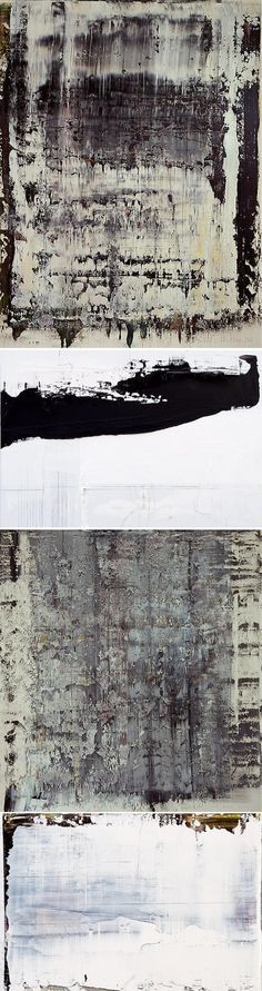 """Gerhard Richter - """"Theory has nothing to do with a work of art."""""""