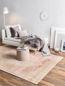 benuta TRENDS Vloerkleed Plat Geweven Frencie Roze - benuta.nl ♥ fashion for floors