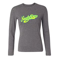 WANTAI Women's Steely Dan Logo Long Sleeve Cotton T Shirt *** See this great product.