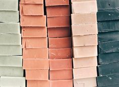 Rose tone color palette inspiration from handmade soap. I love the variation in this color palette. Warm, but with a number of cooler colors mixed in. Palettes Color, Fall Color Palette, Colour Pallete, Colour Schemes, Color Patterns, Colour Palette 2018, Modern Color Palette, Pink Palette, Colour Trends