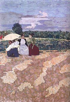 La conversation Edouard Vuillard