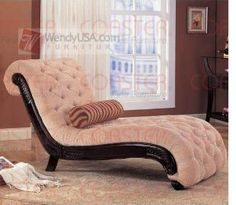 Coaster Tufted Chaise Lounge