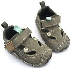 Baby Boy Shoes: Stride Rite Baby Boy Walking Toddler Shoes Size 4 ...