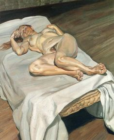 Lucian Freud Night Portrait