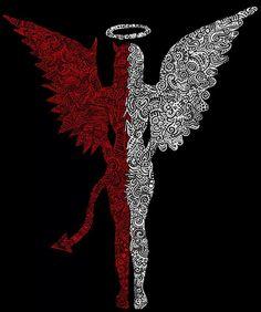 Angel by day, Devil by night....