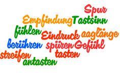 Learn these verbs for talking about touching and feeling in German: