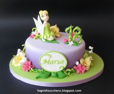All sizes | Tinkerbell cake | Flickr - Photo Sharing!