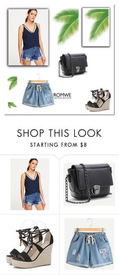 """ROMWE 1"" by umay-cdxc ❤ liked on Polyvore"