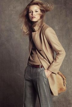 Match gray and beige
