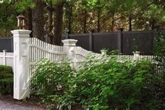 fences at the end of a driveway - - Yahoo Image Search Results