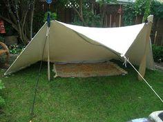 Bushcraft Camping, Camping Survival, Camping Hacks, Camping Tarp, Bushcraft Gear, Diy Camping, Camping And Hiking, Camping Life, Camping Equipment