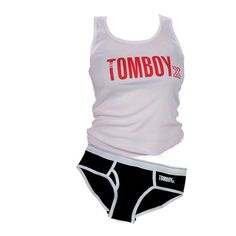 TomboyX Tank & Briefs - Black Combo   TomboyX – Tomboy Clothing for Active, Independent Women