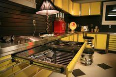 Mechanics dream kitchen