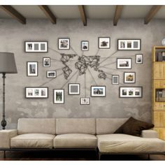 Metal World Map This metal world map can be the perfect addition to your home decor. Awesome as a gift for men and women. Or couples that love to travel. Makes your living room, bedroom or study room a lot cooler.