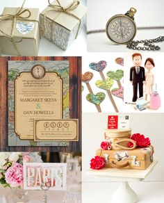 Up And Away! TRAVEL THEMED WEDDING INSPIRATION