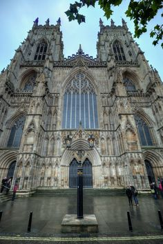https://flic.kr/p/PFfs6v | York Minster | The Cathedral and Metropolitical Church of Saint Peter in York, commonly known as York Minster, is the cathedral of York, England, and is one of the largest of its kind in Northern Europe  IMG_7312_3_4_tonemapped_nw