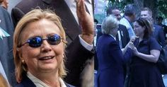 Hidden Secret Behind Hillary's Blue Shades Exposed After Closer Look At Them