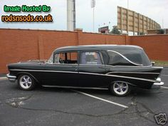 '57 Chevy Hearse - i pinned this hearse before but this is from a different angle