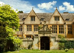 Stanway House Cotswold Gloucestershire England. Owned by Tewkesbury Abbey for 800 years then for 500 years by the Tracy family and their descendents.