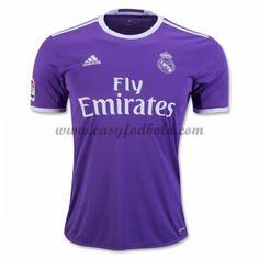 Fodboldtrøjer La Liga Real Madrid 2016-17 Udebanetrøje