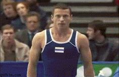 gymnastic trick