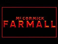 Mc Cormick Farmall Tractors Neon Light Sign