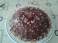 tarta bombón San con almendras