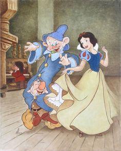 *DOPEY & SNOW WHITE ~ Snow White and the Seven Dwarfs