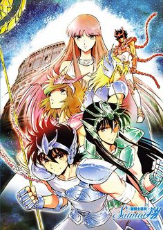 Saint seiya crew (manga version)