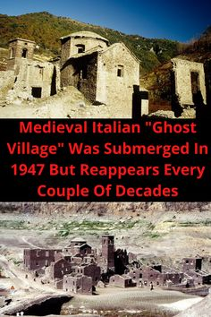 """Medieval Italian """"Ghost Village"""" Was Submerged In 1947 But Reappears Every Couple Of Decades Straps Prom Dresses, Ball Dresses, Fashion Necklace, Fashion Rings, Cute Baby Animals, Funny Animals, Strap Heels, Ankle Strap, Braided Hairstyles"""