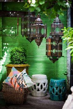 5 Colores que no pueden faltar en decoración árabe