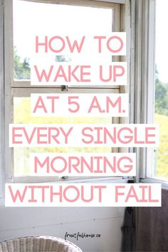 How to wake up early every single morning without fail. Mom Schedule, Working Mom Tips, Get My Life Together, Live With Purpose, Miracle Morning, Self Development, Personal Development, Morning Habits, Quotes About Motherhood