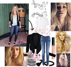 """""""shakira"""" by dgia on Polyvore"""