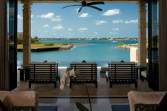 Luxury Villa Rentals & Vacation Rentals from the specialists at Luxury Retreats. Find villas in Italy, Greece, France, Caribbean, Hawaii and around the world. Caribbean Real Estate, Bahamas Real Estate, Indoor Outdoor Living, Outdoor Life, Outdoor Spaces, Florida Design, Paradise Island, Waterfront Homes, Vacation Villas