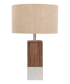 Loving this Restoration Table Lamp on #zulily! #zulilyfinds