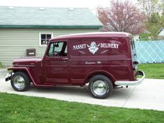 ◆1951 Willys Panel Sedan Delivery◆