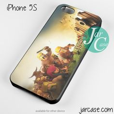 Clash of Clans Opening Phone case for iPhone 4/4s/5/5c/5s/6/6 plus