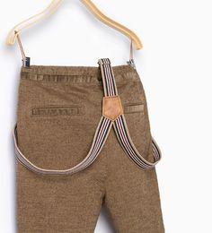 Imagen 4 de Pantalón chino tirantes de Zara