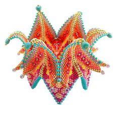Mariella Boschetti's work from Contemporary Geometric Beadwork.