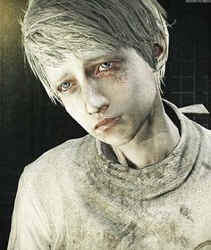 An abused wife! Be careful my daughter this could be you one day!!! <------ wtf XD that's Leslie he's a boy and a mental patient