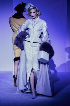Mugler Fall 1995 Couture Fashion Show - Nadja Auermann