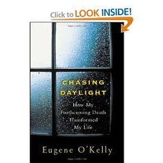 Sara was really inspired and touched by Eugene O'Kelly's book. #klgandhodafavorites