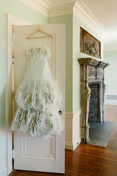 7455c55a43c A fairytale wedding dress in the prettiest mint