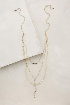 Jardines Layered Necklace - #anthrofave