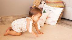 Alfombra bebé beige LÜ BABYMATS