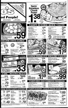 Vintage Ad, Vimco Macaroni, May 20, 1981, Plain Dealer, Cleveland, OH, pg 35 (Viviano Macaroni Co, Carnegie, PA)