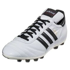 official photos b1edb cd61b adidas Copa Mundial FG Mens Soccer Cleats-WhiteBlackGold Released in 1982